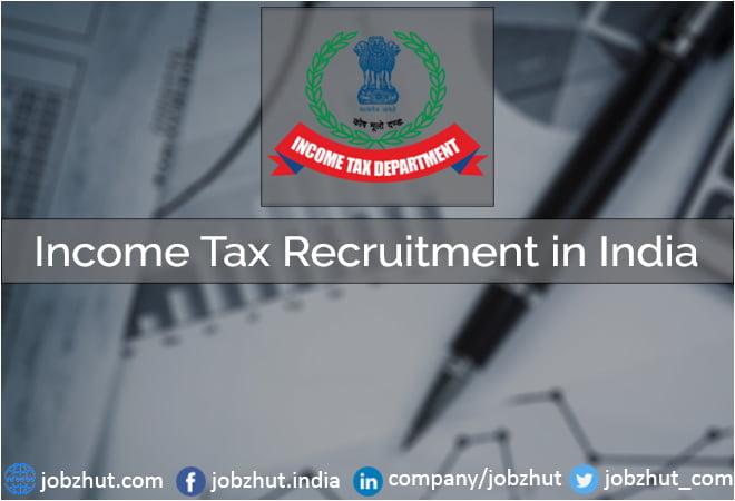 Income Tax Recruitment