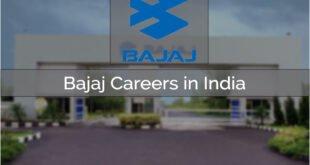 Bajaj Careers