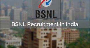 BSNL Recruitment