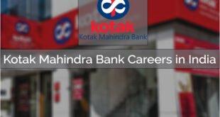 Kotak Mahindra Bank Careers