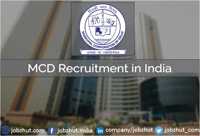 MCD Recruitment