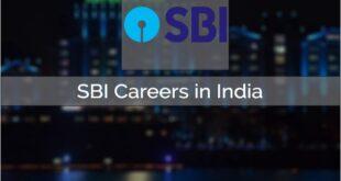 SBI Careers 2021