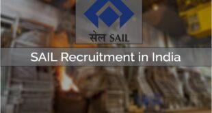 SAIL Careers 2021