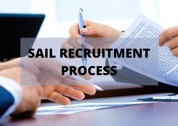 SAIL Recruitment Process